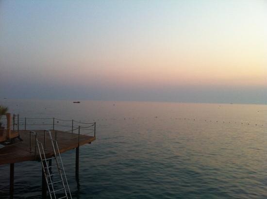 Silence Beach Resort: sea