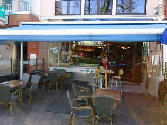 Gelateria Ciao-Ciao : View from the square