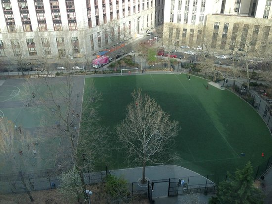 Hotel Mulberry: Park as seen from our room