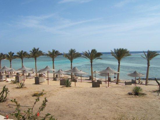 CLUB CALIMERA Habiba Beach: La plage vue depuis le restaurant
