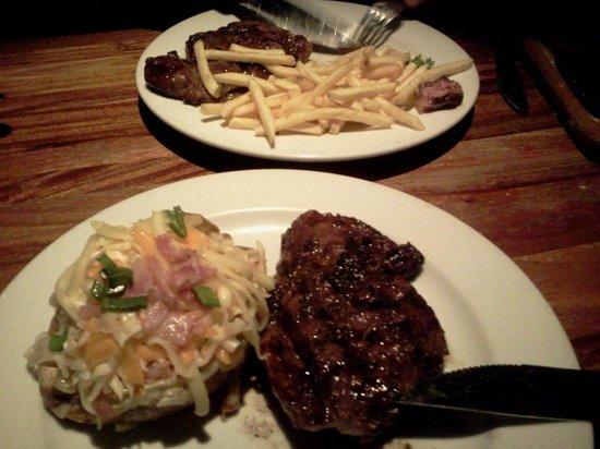 Kansas Grill : porciones abundantes