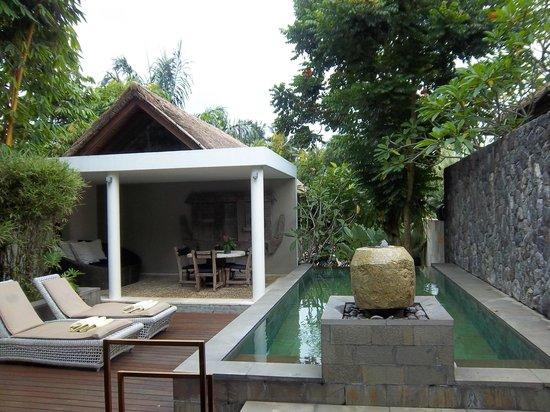 The Purist Villas and Spa : private pool