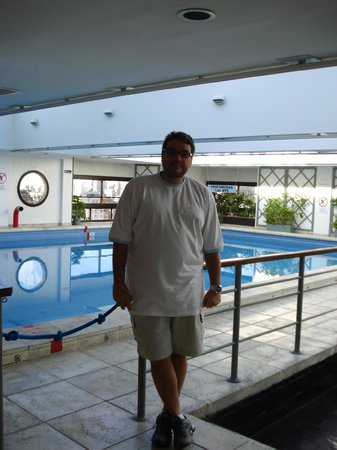 Sheraton Libertador Hotel: Área da cobertura (piscina).