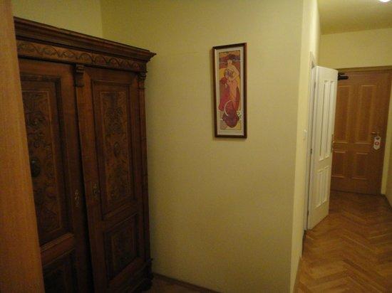 "Hotel Mucha: Armoire & ""hallway"""