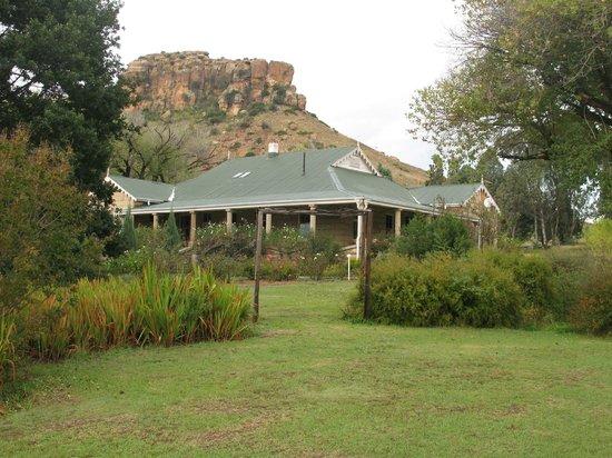 The Rose House: The Rose Hose large veranda for breakfast