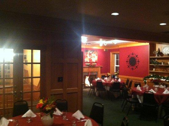 Brasserie du Soleil : Beautiful upstairs banquet seating