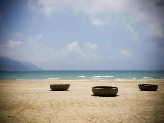 Six Senses Con Dao: beach in the morning