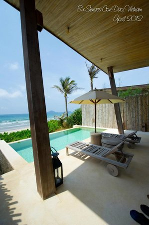 Six Senses Con Dao: private pool