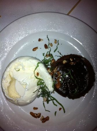 Global Grill: chocolate dessert! delish!