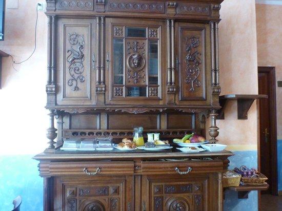 Hotel El Repelao: El desayuno