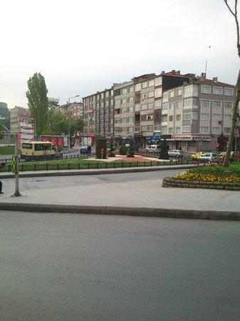 Elite Marmara Hotel: strada vicino hotel