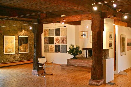Kunst in der Zehntscheune : Ausstellungsräume