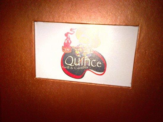 15 Quince Grill & Cantina: Menu