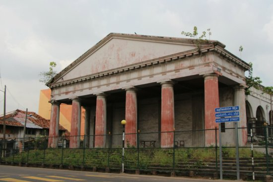 Law Courts of Hulftsdorp : And old Building resembling the pantheon