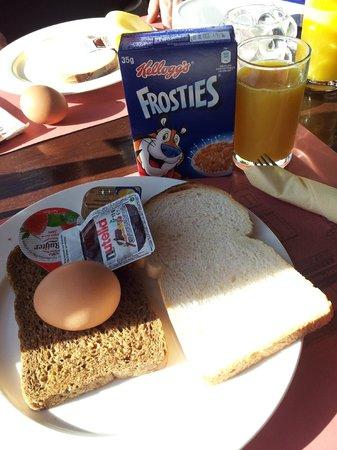 Hotel Cafe Restaurant Abina: Ontbijt