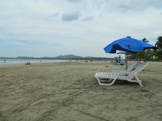 Occidental Tamarindo: Looking to the right at the beach, what can you compain about?