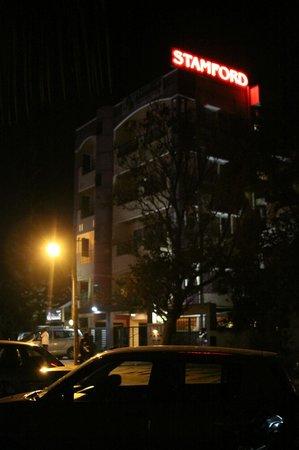 Stamford Residency: Hotel at Night