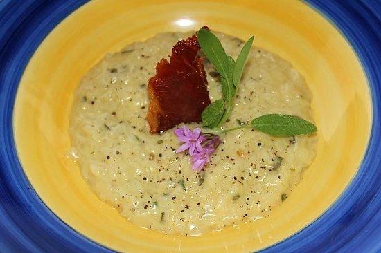 Fraai Uitzicht Restaurant: Sage risotto