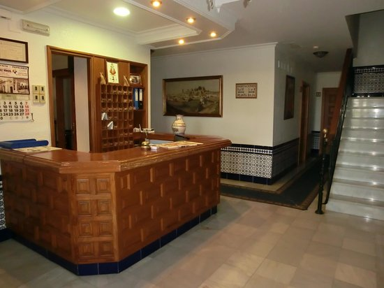 Hotel Mairena : recepción