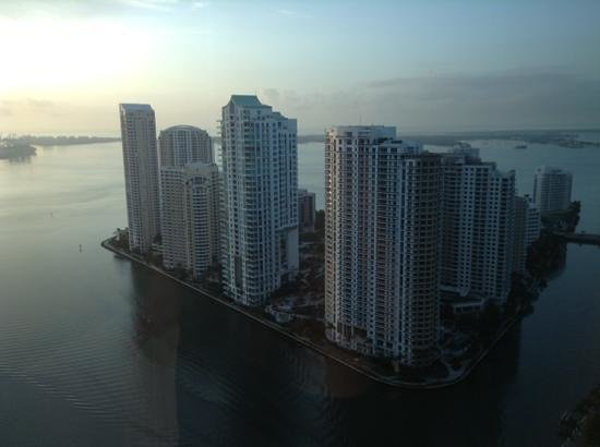 JW Marriott Marquis Miami: view from 3501