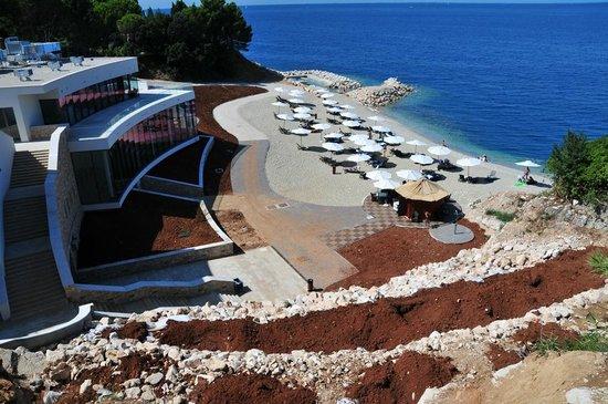 Kempinski Hotel Adriatic Istria Croatia: Hotel Kempinski - La spiaggia