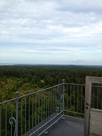 Kopu Lighthouse: view