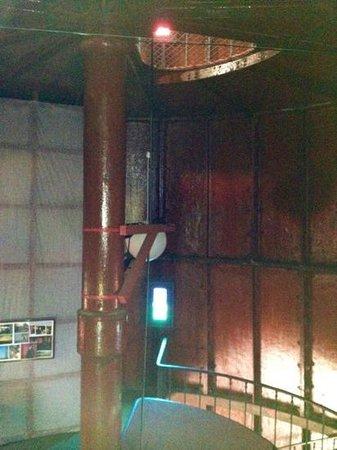 Kopu Lighthouse: inside
