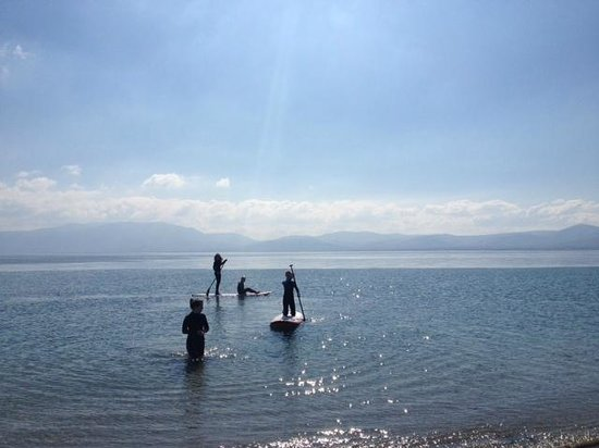 Jamie Knox Watersports: Stand Up Paddle Boarding in Snady Bay