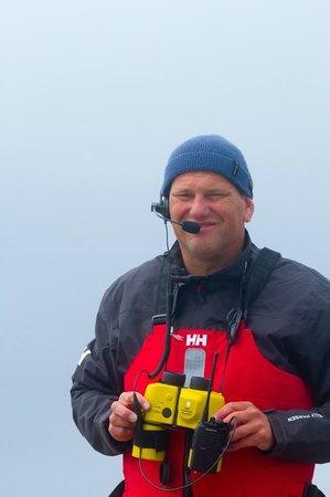 Jamie Knox Watersports: Jamie Knox coaching a windsurfing lesson