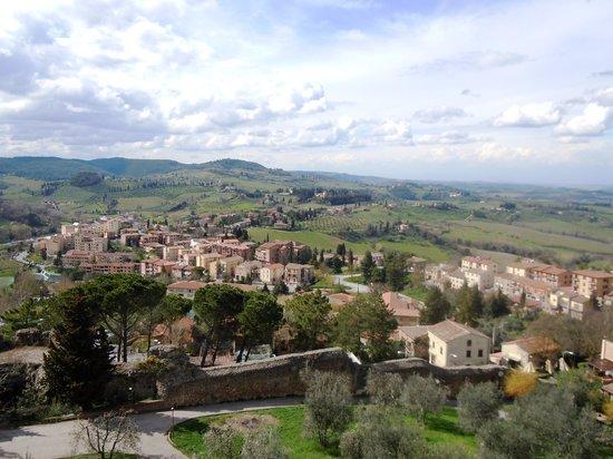 Rocca of Montestaffoli: View from La Rocca
