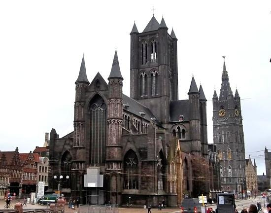 Saint Nicholas Church: St Nicholas church + the Belfry.