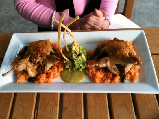 Wine & Roses Hotel, Restaurant & Spa: Stuffed Quail