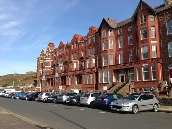 The Fernleigh: View of the row of buildings