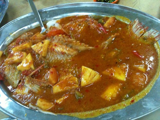 Alor Akar Restaurant: 暹蒸非洲鱼 Thai Style Steam Fish