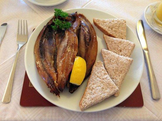 The Fernleigh: The Manx kippers breakfast!