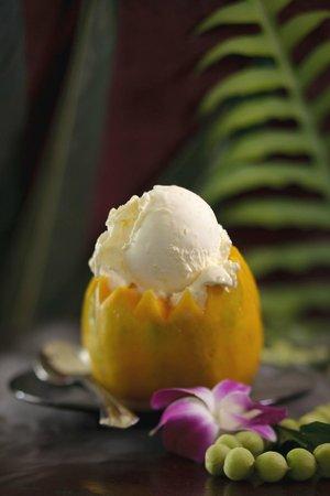 Papalani Gelato - Anchor Cove: Our Kauai Made Gelato in a Papaya