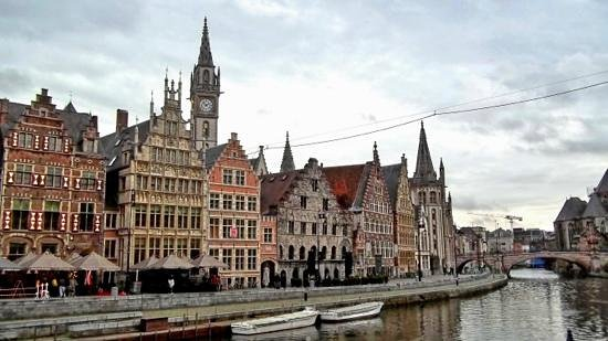 iTours - Ghent Guides: Beautiful architechture of Ghent.