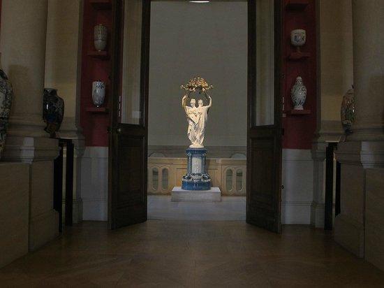 Musée national de céramique de Sèvres : 1 er étage