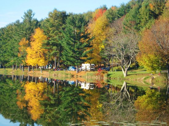 Yogi Bear's Jellystone Park - Cooperstown: fall colors here are amazing