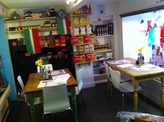 Krave Delicatessen: lovely continental food at Krave Deli !