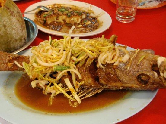Restoran Hai Tian: Kerabu mangga fish