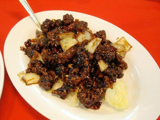 Restoran Hai Tian: Dry Chili Mantis Shrimp