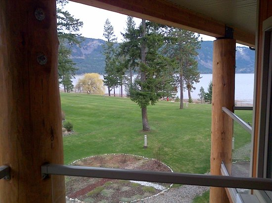 Quaaout Lodge & Spa at Talking Rock Golf Resort: View from my room....
