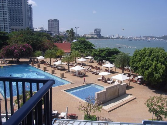 Dusit Thani Pattaya: view from room 436