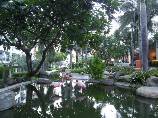 Dusit Thani Pattaya: lovely gardens