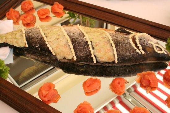 Restaurant Rotwand: Buffet di pesce(settimana di pesce)-Fischbuffet(Fischwoche)