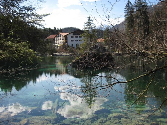 Hotel am Badersee: Idylle