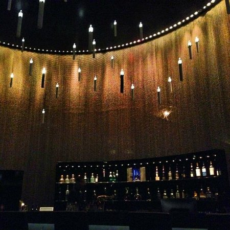 The Dolder Bar with floating candle lights - Picture of The Dolder ...