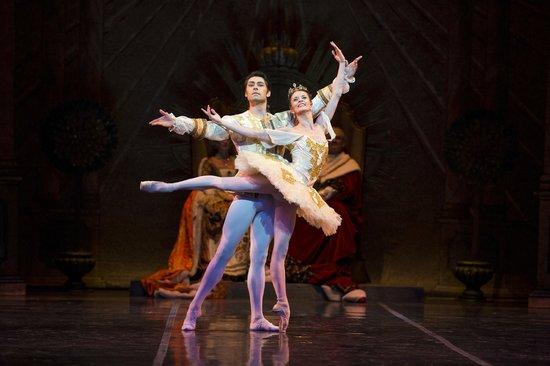 Colorado Ballet: Maria Mosina and Alexei Tyukov in The Sleeping Beauty, photo by Terry Shapiro