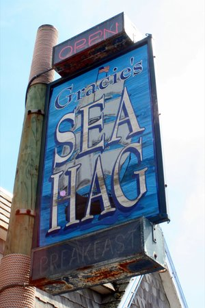 Gracie's Sea Hag : Sea Hag Sign